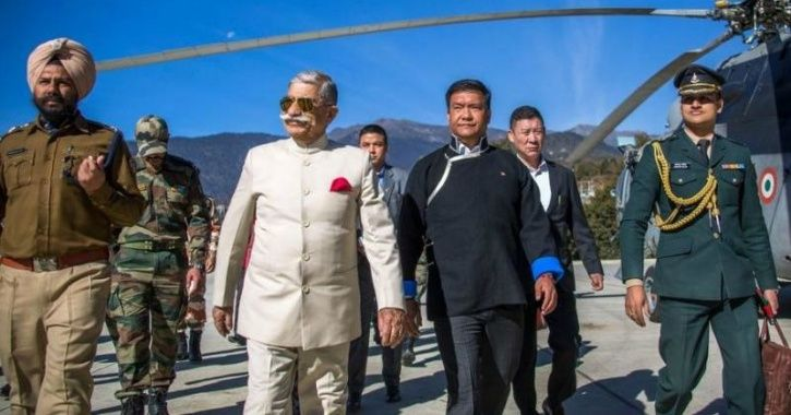In A Humanitarian Gesture, Arunachal Governor Takes Pregnant Woman To Hospital In Own Chopper