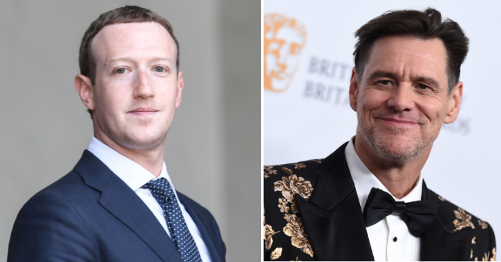Jim Carrey writes Fuck You to Facebook CEO Mark Zuckerberg in binary code.