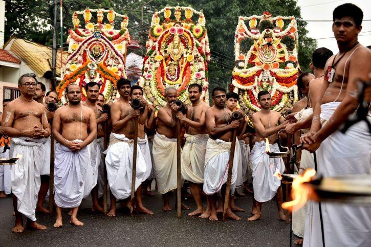 Kerala, flight operations, Lord Vishnu, Arattu, procession, rescheduled, deity, rituals