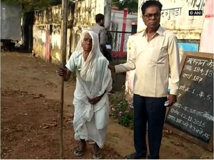 Maoists, Chhattisgarh Elections, 100 year old woman, explosions, BSF, bombs