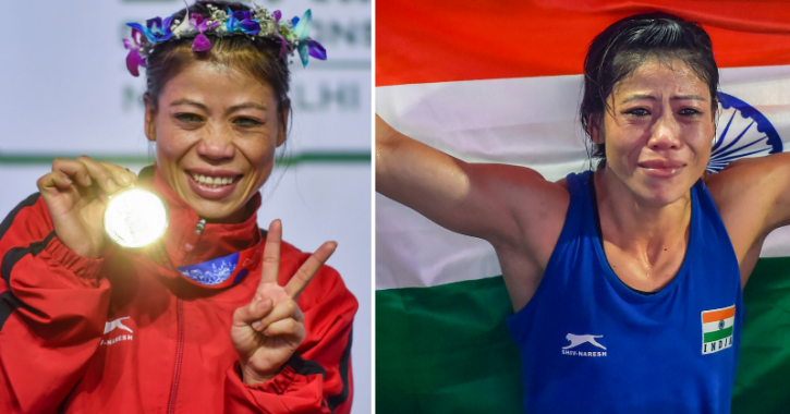 Mary Kom has become the first woman boxer to win six gold medals at the World Championships.