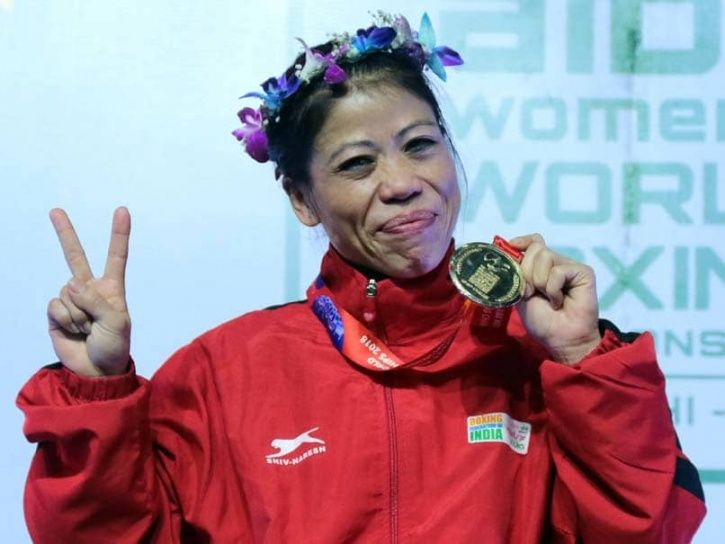 Mary Kom has won 6 World Championships