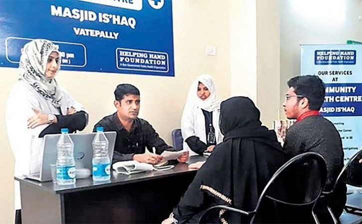 mosque turns health hub