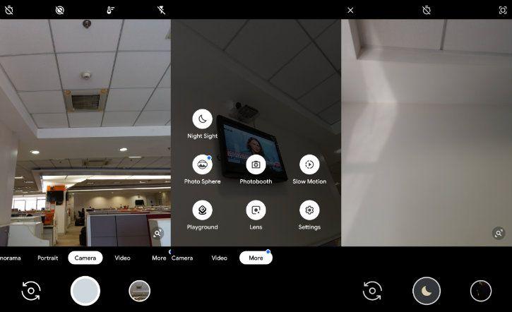 night sight camera mode in google pixel