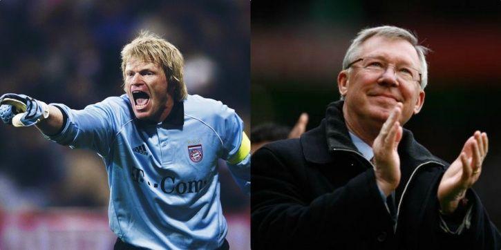 Oliver Kahn played for Bayern Munich