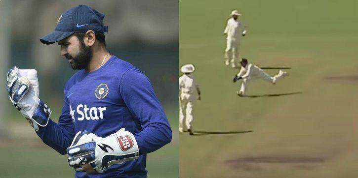 Parthiv Patel took a brilliant catch