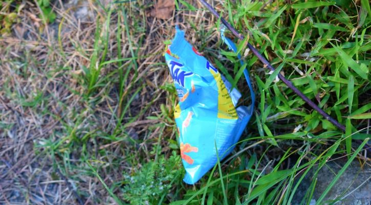 Plastic pollution in the Himalayan treks