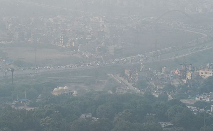 pollution in ncr