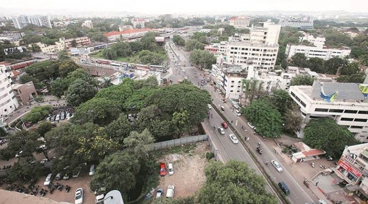 Pune, Jijapur,Sambhaji brigade, Maratha Empire, Santosh Shinde, renaming