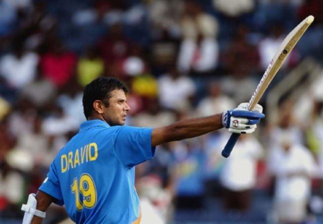 Rahul Dravid has come to India