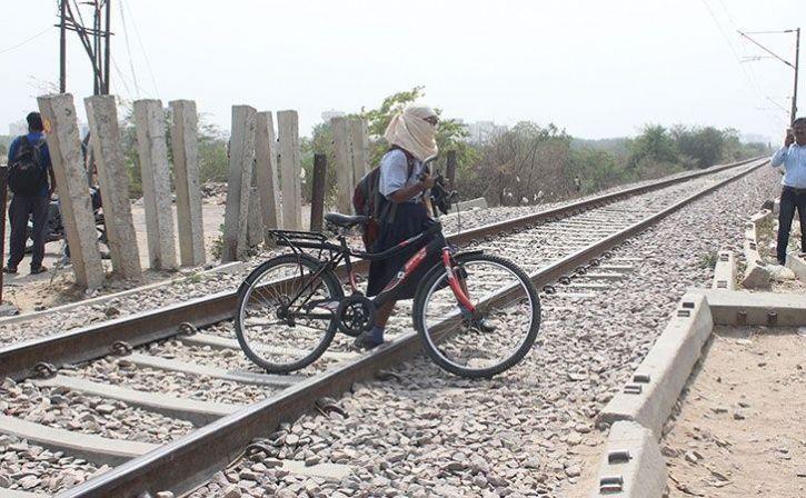 railways eliminates unmanned level crossing