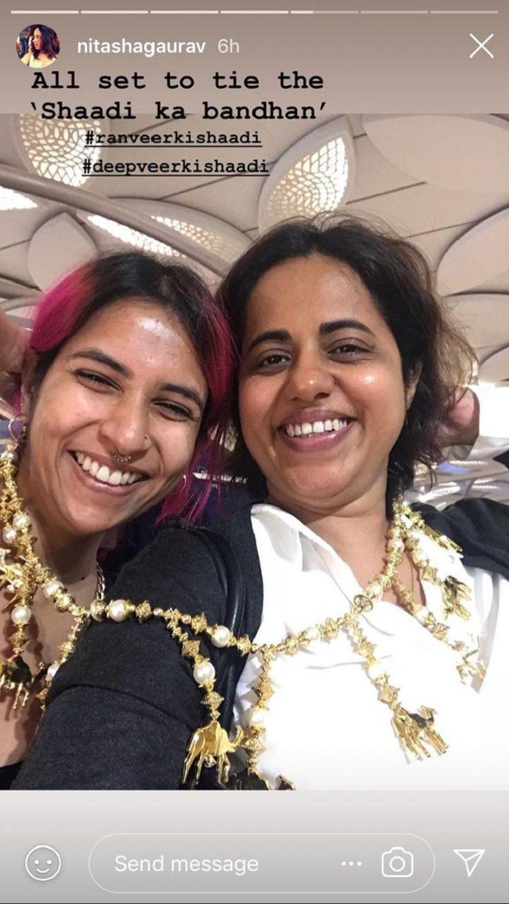 Ranveer Sigh & Deepika Padukone's Wedding Preparations Have Begin At Lake Combo & Everyone Looks Exc