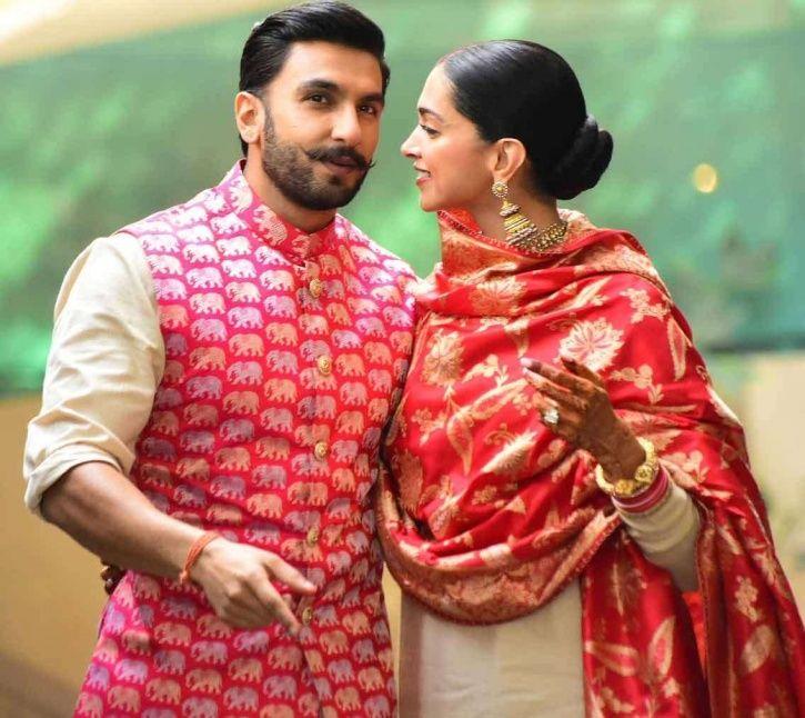 Ranveer Singh and Deepika Padukone land in Mumbai.