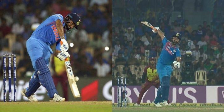 Rishabh Pant made 58 runs in 38 balls