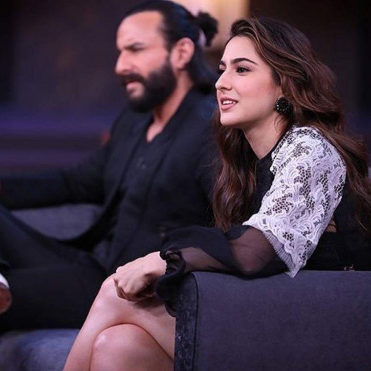 Sara Ali Khan on Koffee With Karan.