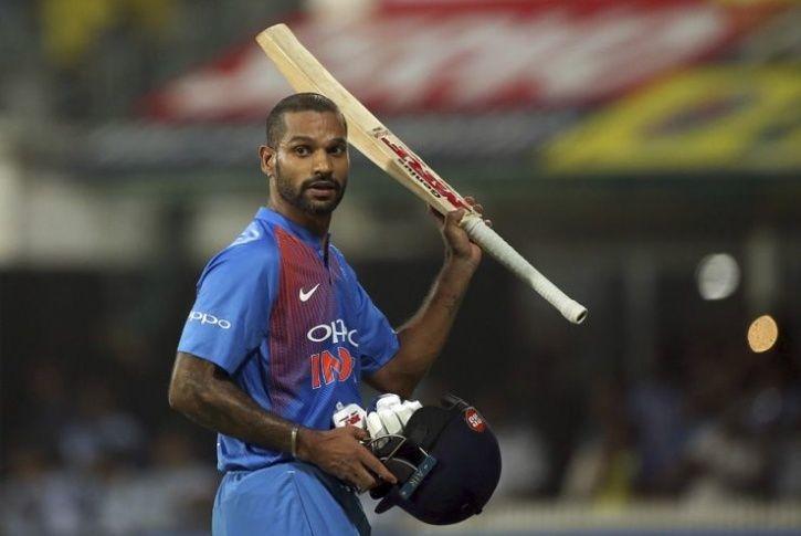 Shikhar Dhawan made 92 vs West Indies