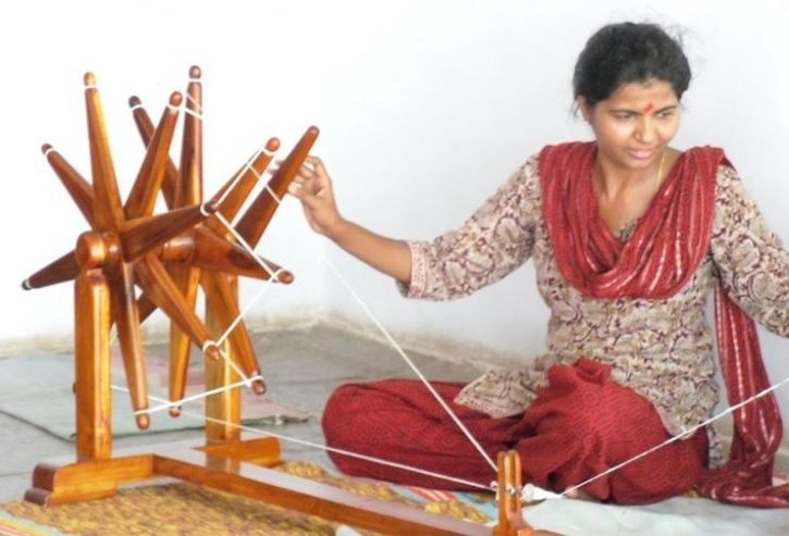 Spinning Charkha