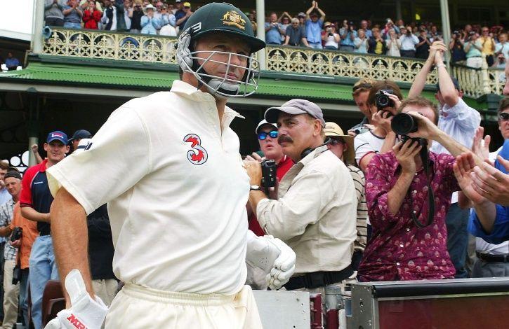 Steve Waugh made 80 in his last Test innings