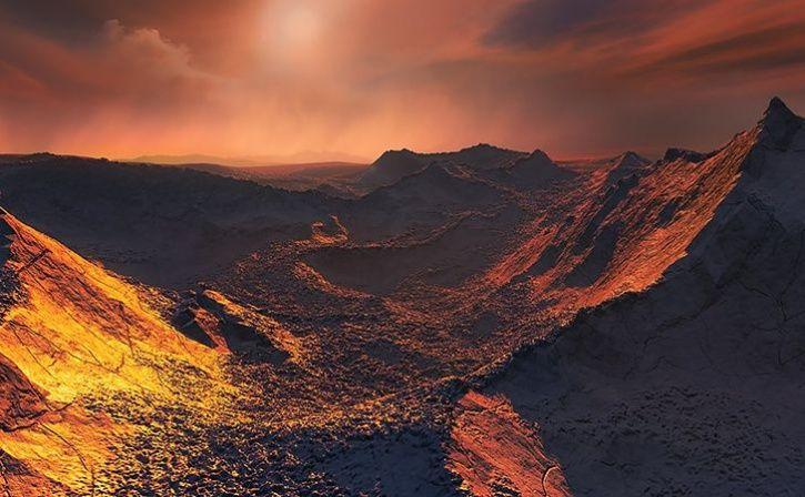 super earth discovered orbiting sun