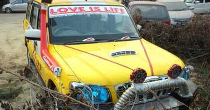 SUV Stunt Goes Wrong