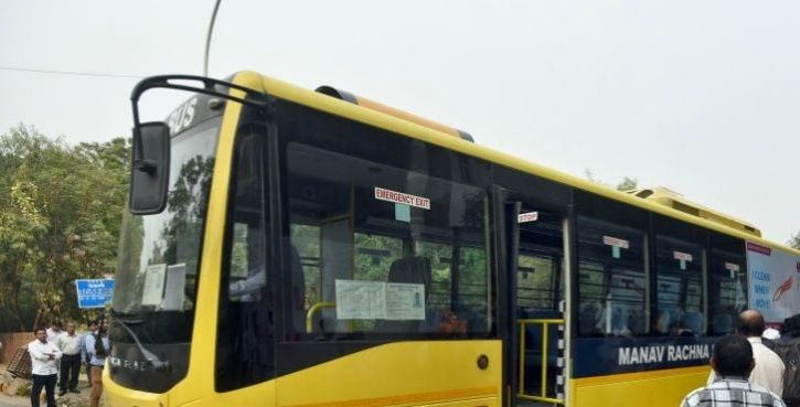 These Buses With Special Air Filters On Roof Will Help In Getting Rid Of Delhi's Air Pollution