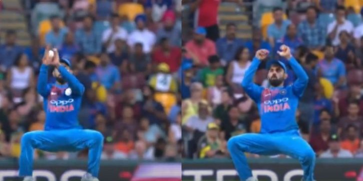 Virat Kohli dropped a simple catch