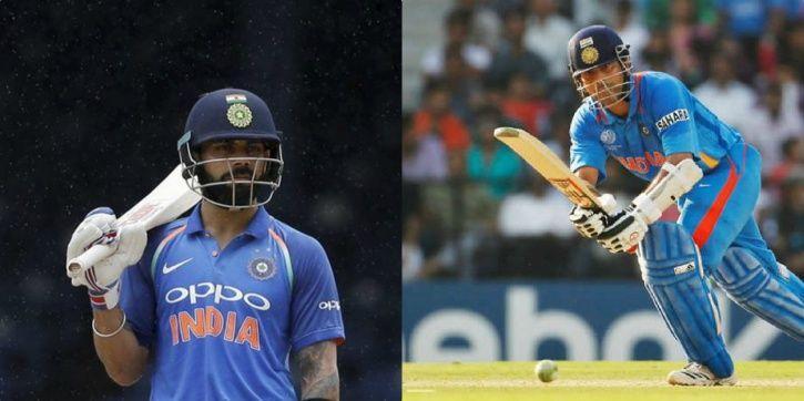 Virat Kohli has scored 63 international hundreds