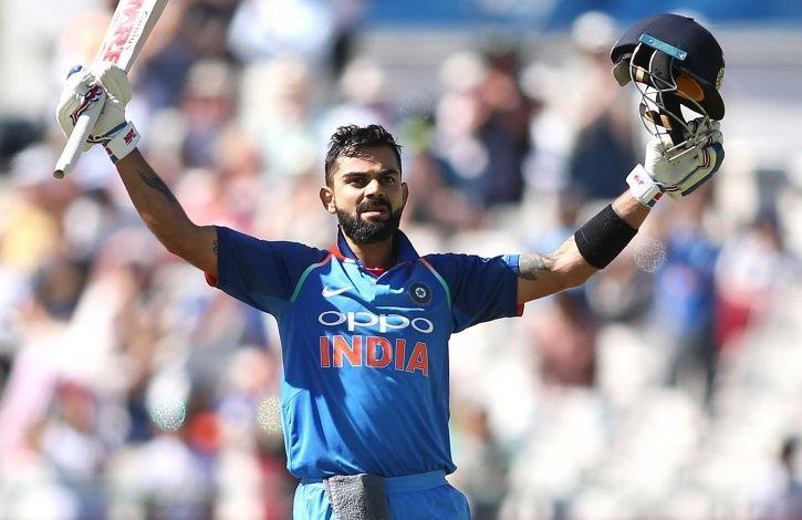Virat Kohli made 61 not out