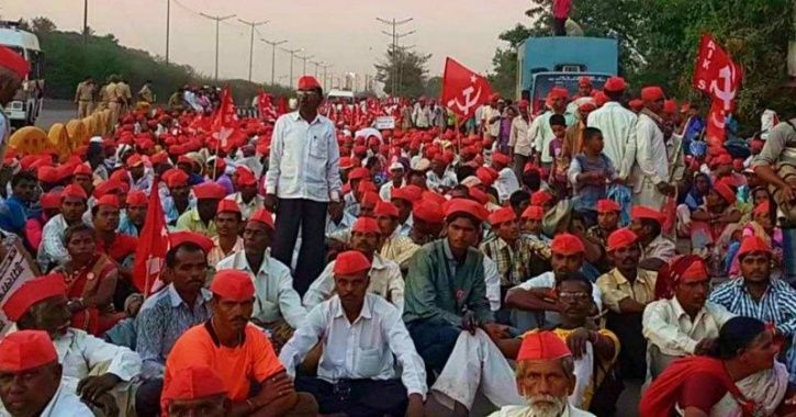 'Want Land, Not Bullet Trains', Thousands Of Farmers March To Parliament Demanding Loan Waiver