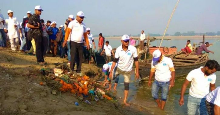 While Govt Fails To Clean Ganga, Team Of 40 Cleared 55 Tonnes Of Garbage In Month-Long Project