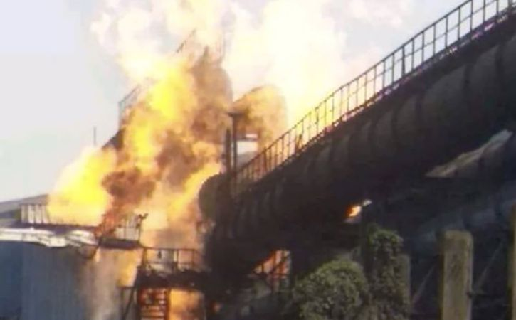 14 Injured In Bhilai Steel Plant Blast In Chhattisgarh