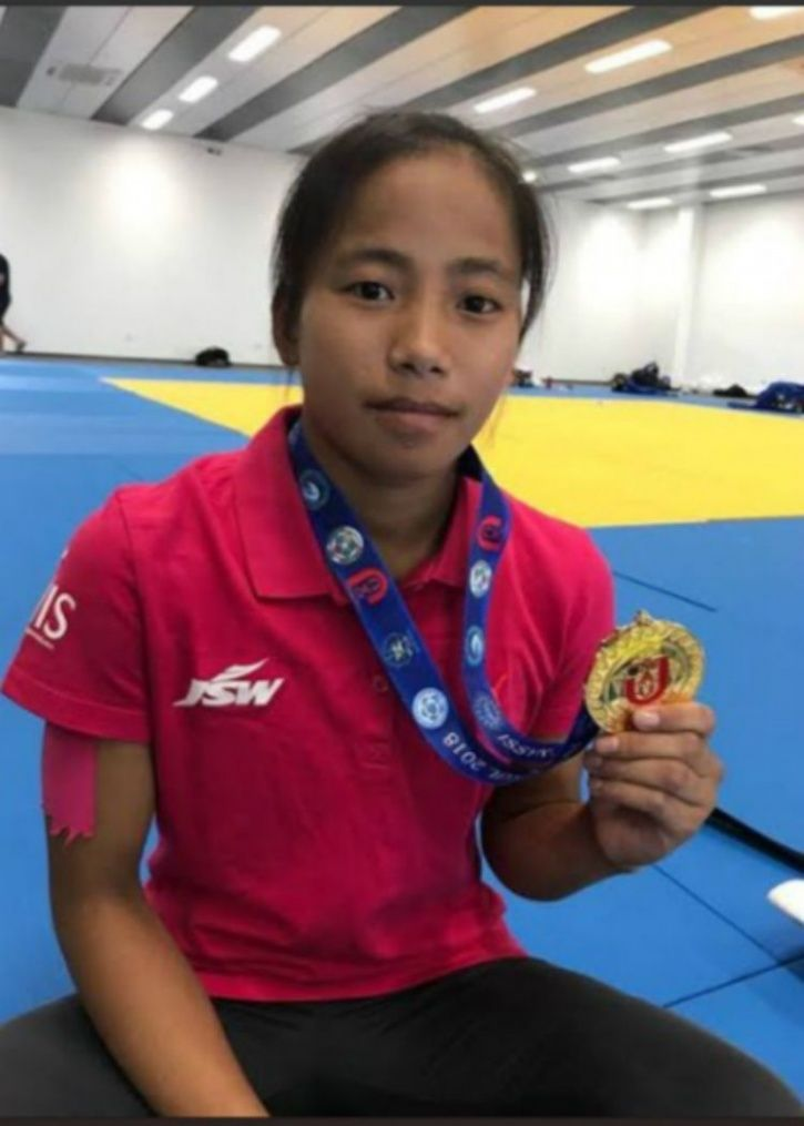 16-year-old Tababi Devi Thangjam, youth olympics 2018, silver medal, first indian to win judo medal