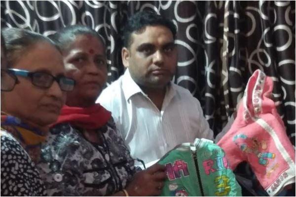 55 year old, meena devi, amritsar train accident, toddler, baby, joda phatak, dussehra 2018