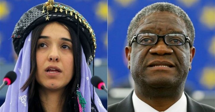 A Former ISIS Sex Slave & A Physician Have Been Awarded The Nobel Peace Prize 2018