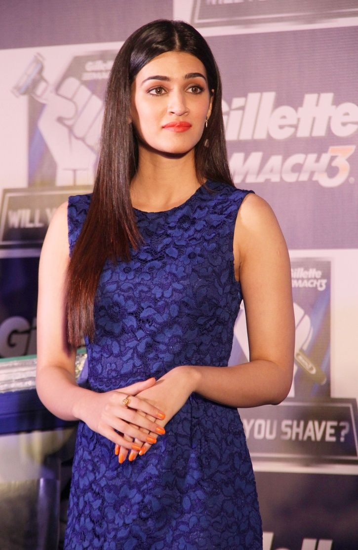 A picture of actress Kriti Sanon who talked on the misuse of #MeToo movement.