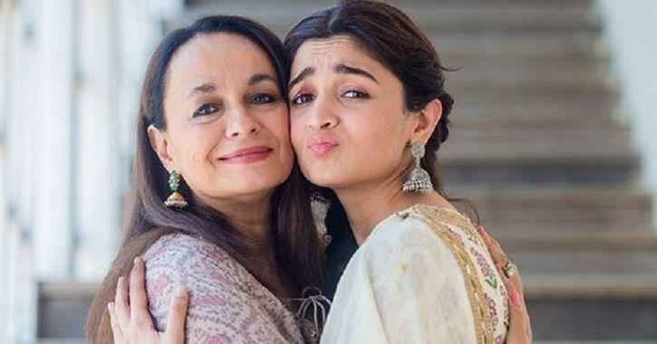 A picture of Alia Bhatt and her mother Soni Razdan.