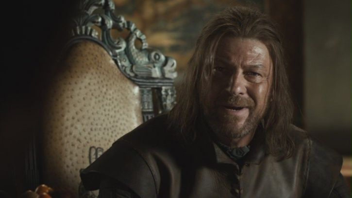 A picture of Ned Stark.