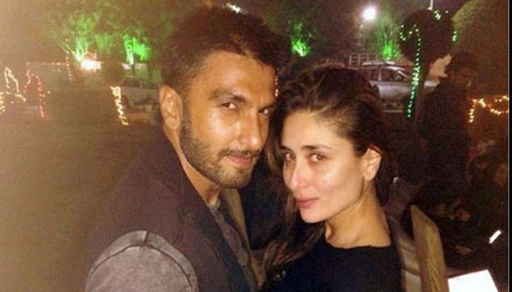 A picture of Ranveer Singh and Kareena Kapoor.