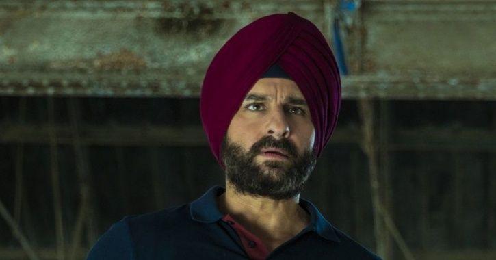 A picture of Saif Ali Khan AKA Sartaj Singh from Sacred Games 2.