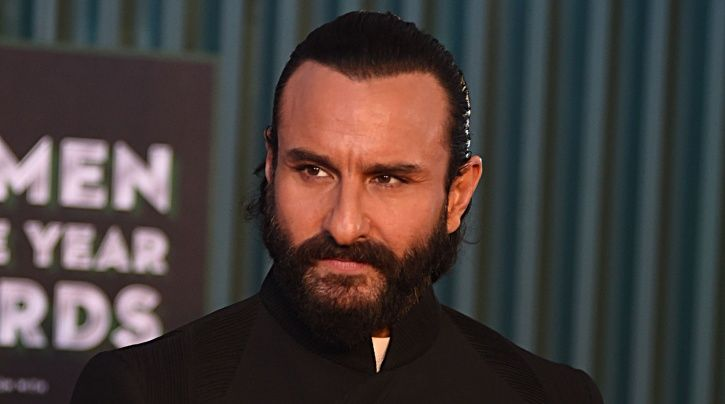A picture of Saif Ali Khan who spoke on the MeToo movement.