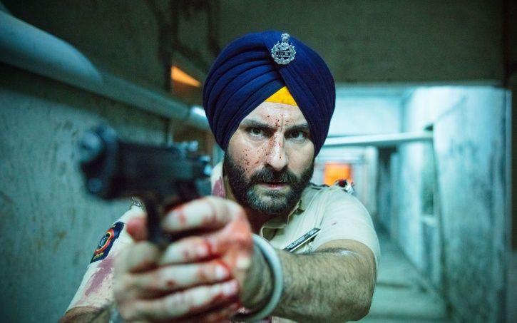 A picture of Sartaj Singh AKA Saif Ali Khan from Sacred Games.