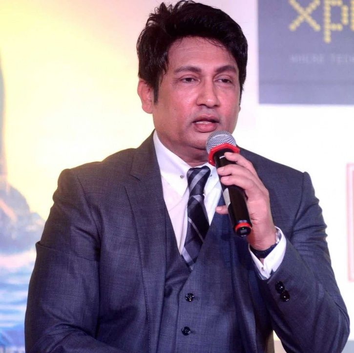 A picture of Shekhar Suman who questioned the silence on #MeToo movement.