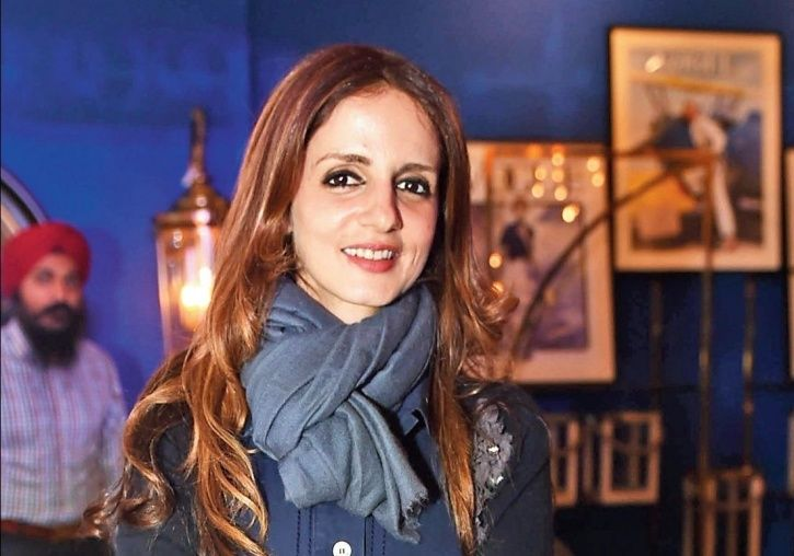A picture of Sussanne Khan.