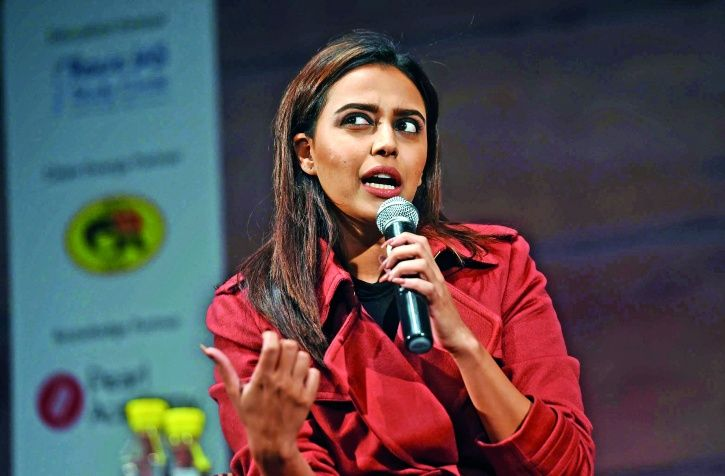 A picture of Swara Bhasker.