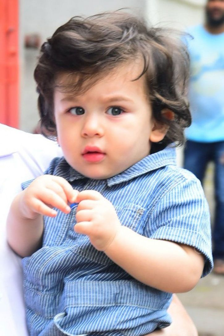 A picture of Taimur Ali Khan.