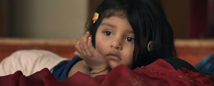 A still of Myra Vishwakarm from Pihu trailer.