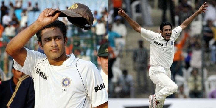 Anil Kumble took 12 wickets in Sydney