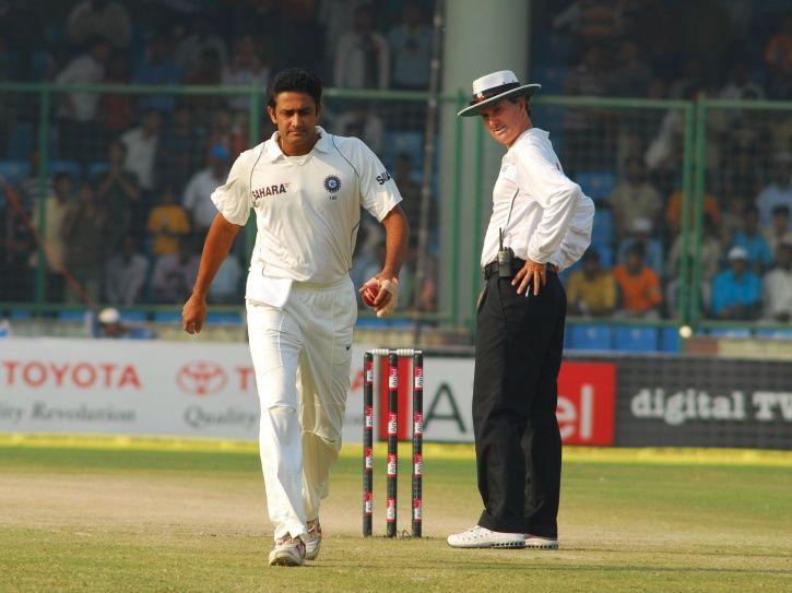 Anil Kumble took 8 wickets vs Australia