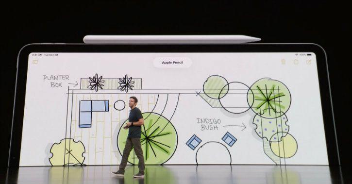 Apple pencil iPad Pro wireless charging