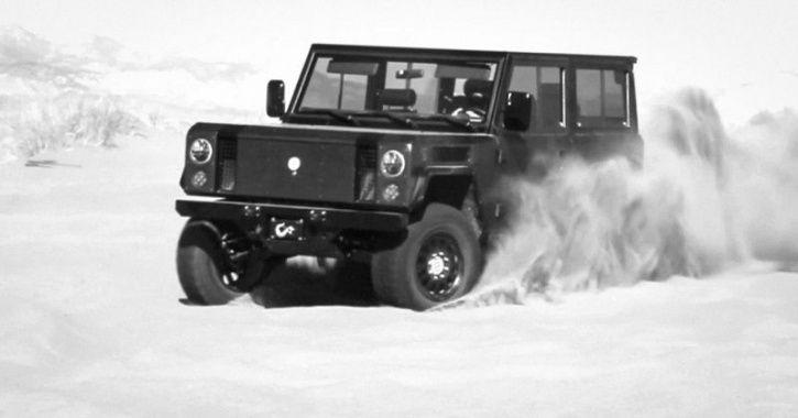 Bollinger Motors, Electric Vehicles, Pickup Truck, Electric Pickup Truck, B2 Pickup Truck